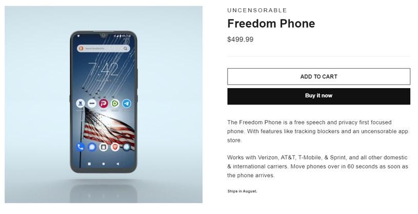 Freedomphone /materiały prasowe