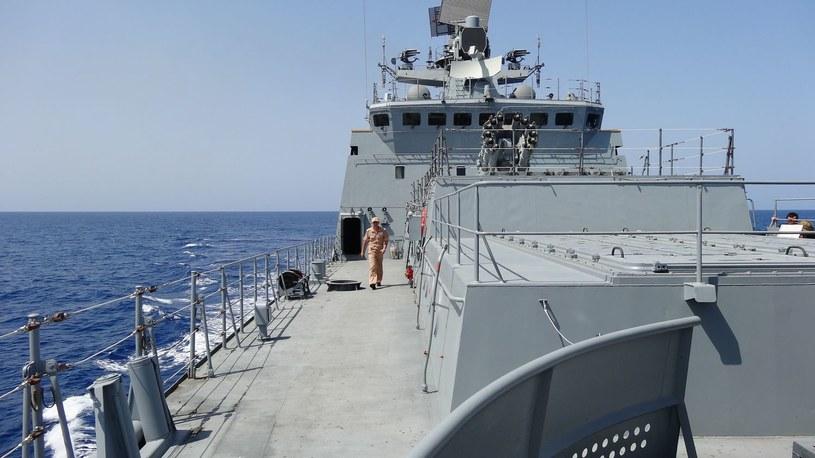 Fregata Admirał Essen, należąca do Floty Czarnomorskiej /MARIA ANTONOVA /AFP