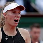 French Open: Awans Wozniacki do 2. rundy po nierównym meczu