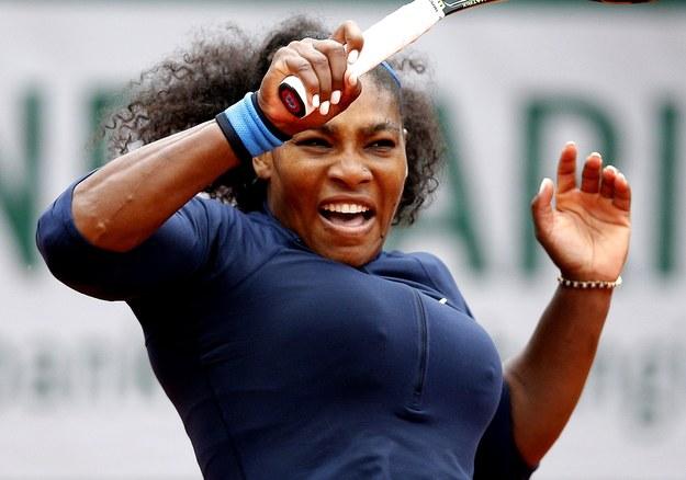 French Open: Kolejna próba Sereny Williams wyrównania rekordu Steffi Graf /ROBERT GHEMENT /PAP/EPA