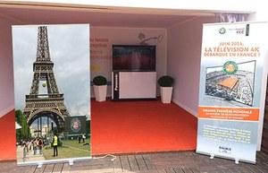French Open Roland Garros w jakości Ultra HD 4K