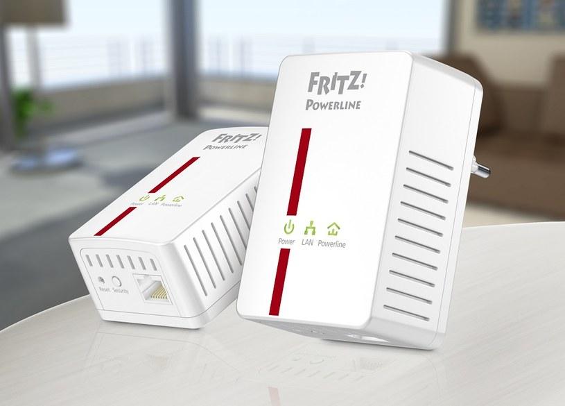 FRITZ!Powerline 500E - jedno z urządzeń  powerline najnowszej generacji /materiały prasowe