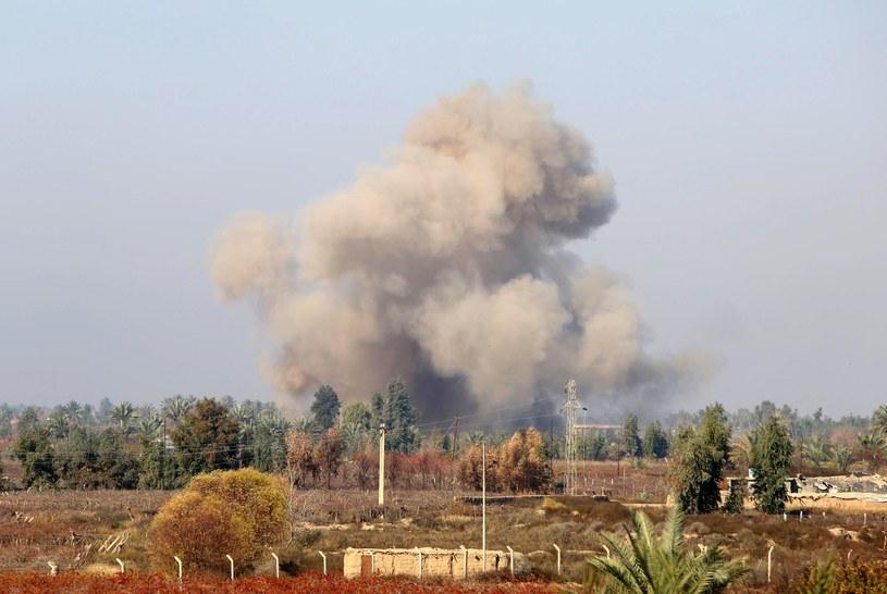 Front walk między Państwem Islamskim i iracką armią /AFP