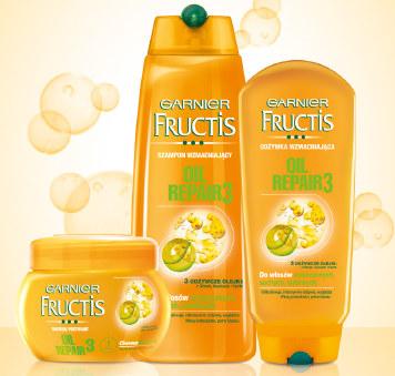 Fructis Oil Repair 3 /materiały prasowe