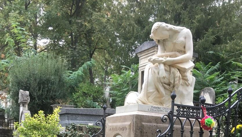 Fryderyk Chopin - grób we Francji