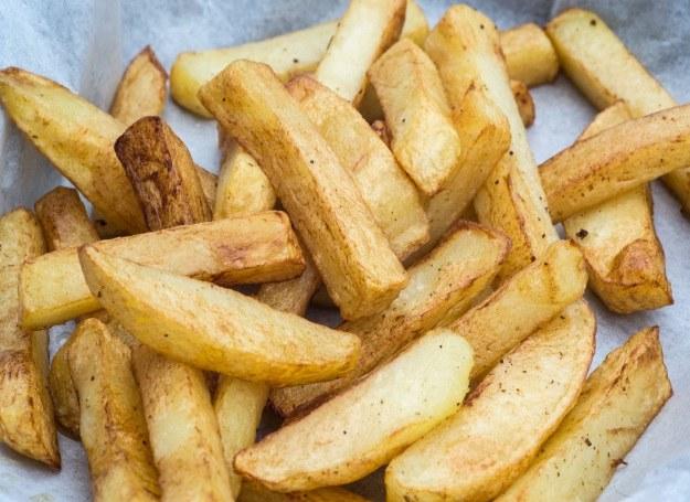 Frytki - domowe smakują najlepiej! /123RF/PICSEL