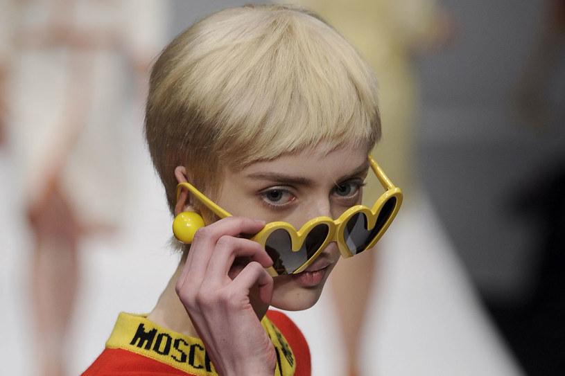 Fryzura z pokazu Moschino /East News/ Zeppelin
