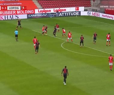 FSV Mainz - RB Lipsk 0-5 - skrót (ZDJĘCIA ELEVEN SPORTS). WIDEO