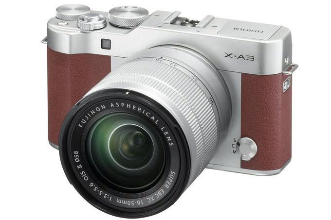 Fujifilm X-A3 /materiały prasowe
