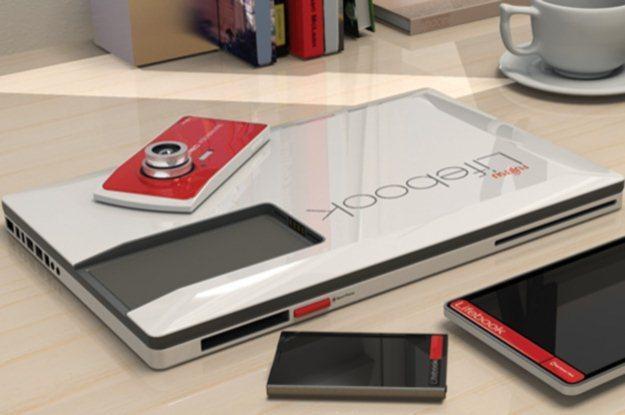 Fujitsu Lifebook 2013 to innowacyjna wizja projektantów z Yanko Design (Fot. Yanko Design) /Internet