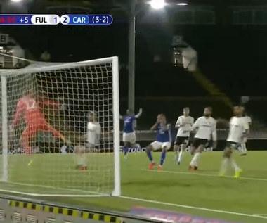 Fulham - Cardiff City 1-2 - skrót (ZDJĘCIA ELEVEN SPORTS). WIDEO