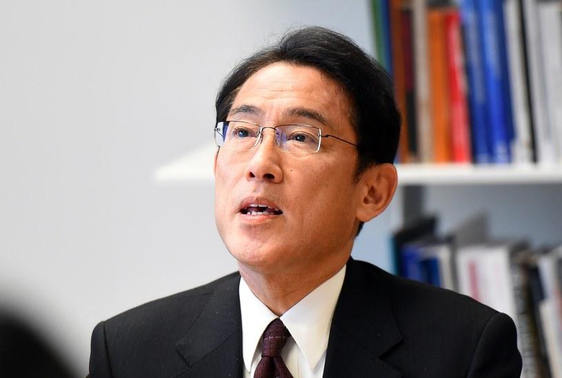 Fumio Kishida - minister spraw zagranicznych Japonii /AFP