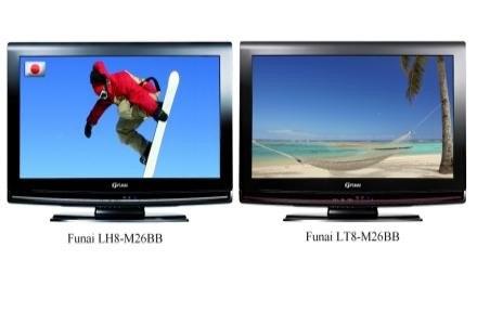 Funai LH8-M26BB oraz LT8-M26BB /materiały prasowe