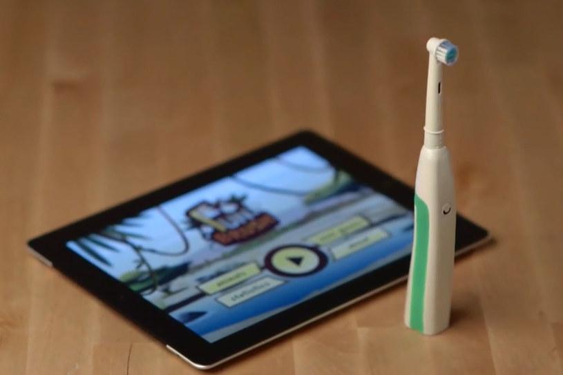 FunBrush to inteligentna szczoteczka wyposażona w moduł Bluetooth. /materiały prasowe