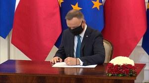 Fundusz Odbudowy. Prezydent Andrzej Duda ratyfikował decyzję o zasobach własnych
