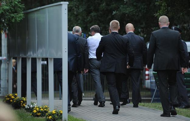 Funkcjonariusze BOR za prezydentem, fot. B. Krupa /East News