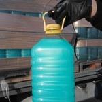 Funkcjonariusze KAS zatrzymali transport mydła antybakteryjnego i środka do dezynfekcji