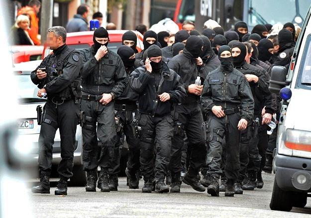 Funkcjonariusze RAID /AFP