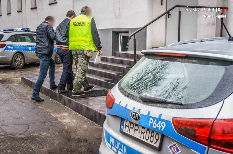 Funkcjonariusze ustalili, że 50-latek po wyjściu z więzienia dopuścił się też kilku innych przestępstw. /Śląska policja /