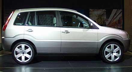 Fusion - miejska koncepcja Forda /INTERIA.PL
