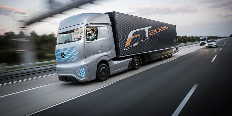 Future Truck 2025 - ciężarówka przyszłości Mercedesa /materiały prasowe