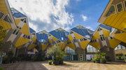 Futurystyczne domki w Rotterdamie