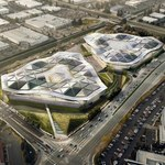 Futurystyczny projekt nowej siedziby NVIDII