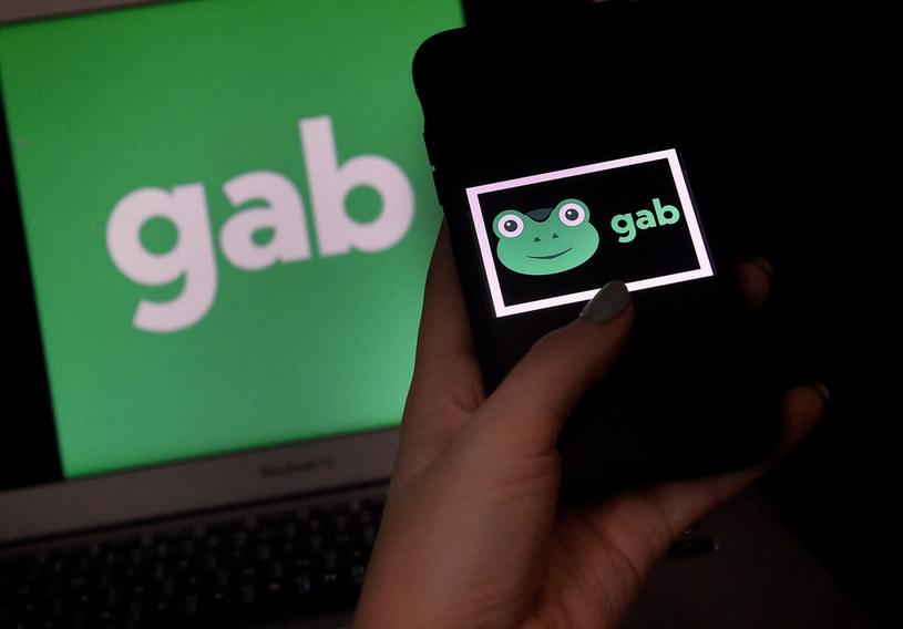 Gab padł ofiarą hakera /AFP