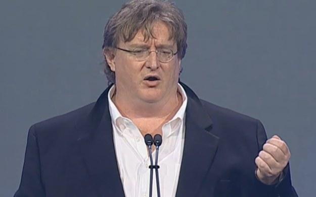 Gabe Newell - zdjęcie z fragmentu wypowiedzi zamieszczonej w serwisie YouTube /materiały prasowe
