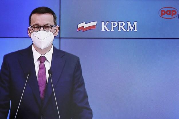 Gabinet Mateusza Morawieckiego cieszy się poparciem 32 proc. Polaków /Paweł Supernak /PAP
