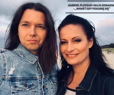 """Gabriel Fleszar i Maja Konarska (Moonlight) w duecie. Zobacz teledysk """"Nawet gdy pogubię się"""""""