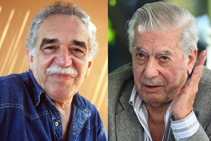 Gabriel García Márquez i Mario Vargas Llosa, fot. AFP/EAST NEWS /East News