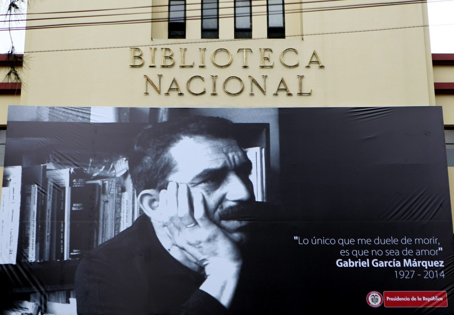 Gabriel Garcia Marquez zmarł w wieku 87 lat /Leonardo Muńoz /PAP/EPA