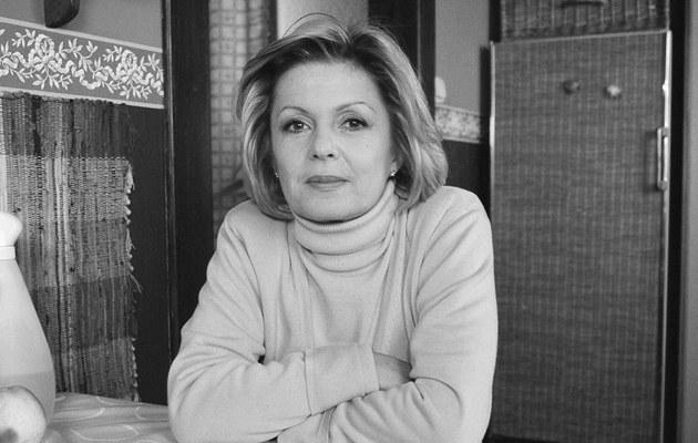 """Gabriela Kownacka na planie """"Rodziny zastępczej"""", 2003, fot.Mikulski  /AKPA"""