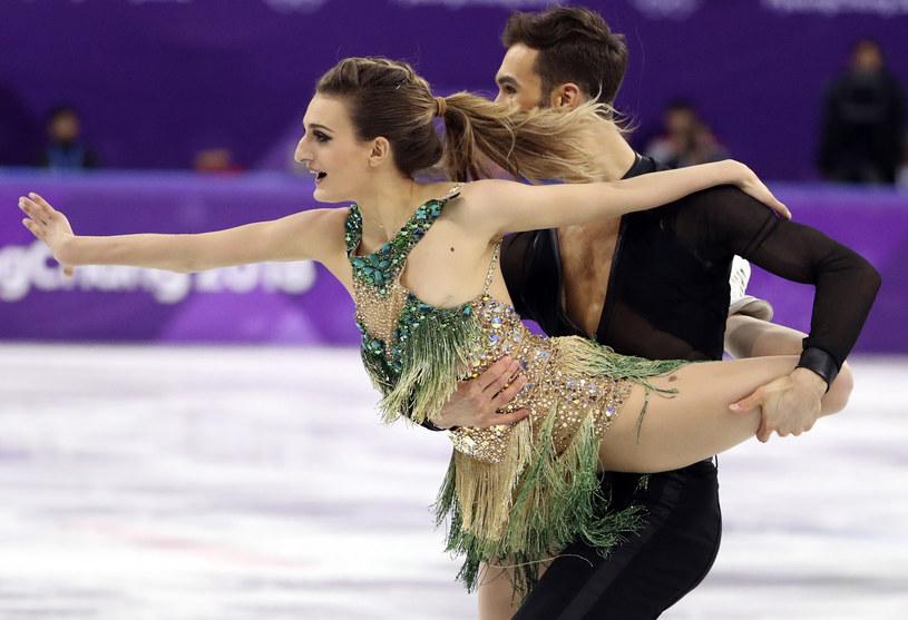 Gabriella Papadakis i Guillaume Cizeron / REUTERS/Lucy Nicholson /Agencja FORUM