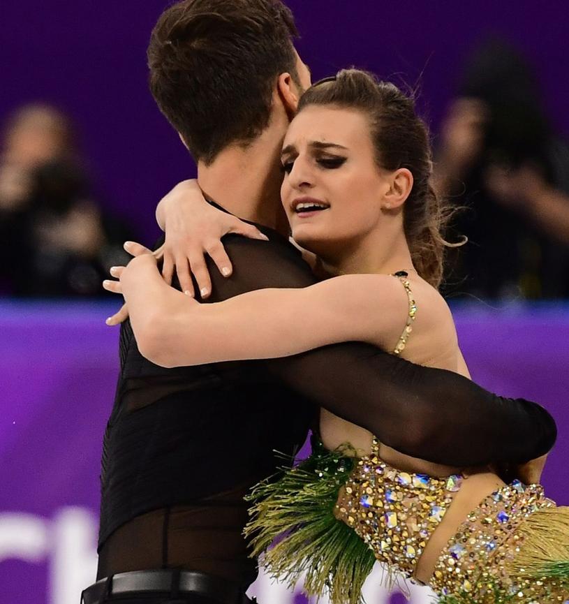 Gabriella Papadakis i Guillaume Cizeron /AFP PHOTO/Roberto SCHMIDT /East News