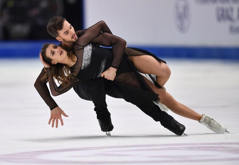 Gabriella Papadakis i Guillaume Cizeron /DANIEL MIHAILESCU /AFP
