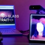 Gadżet zmieniający zdjęcie w hologram