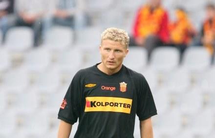 Gajtkowski zdobył dwa gole w Łęcznej Fot. Tomasz Markowski /Agencja Przegląd Sportowy