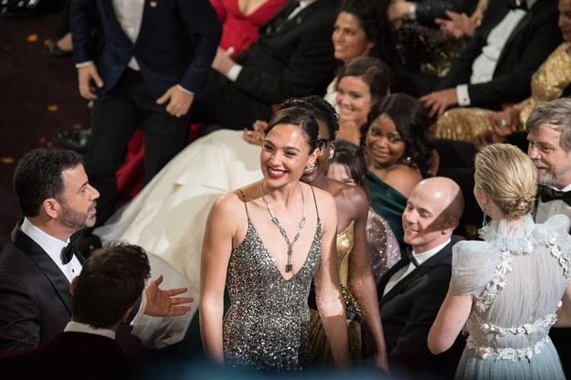 Gal Gadot na oscarowej gali w 2018 r. /Scott Diussa /PAP/Photoshot