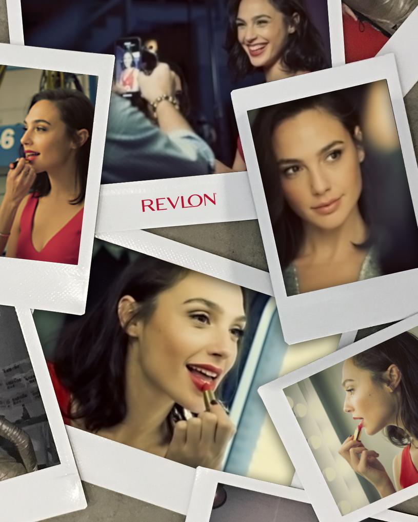 Gal Gadot nową twarzą Revlonu /materiały prasowe