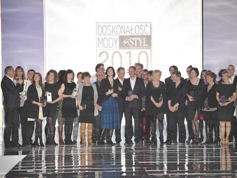 Gala Doskonałości Mody 2010  /Jacek Kurnikowski, Andrzej Engelbrecht /AKPA
