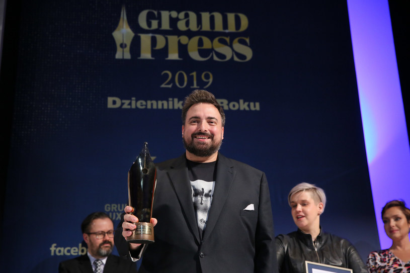 Gala finałowa Grand Press 2019 miesięcznika Press /Piotr Molecki /East News