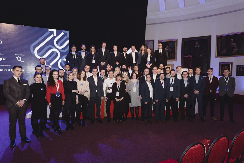 Gala finałowa pierwszej edycji Szkoły Pionierów PFR / Źródło: PFR /&nbsp