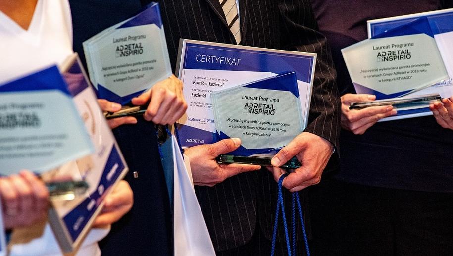 Gala rozdania nagród programu AdRI /materiały prasowe /Materiały prasowe