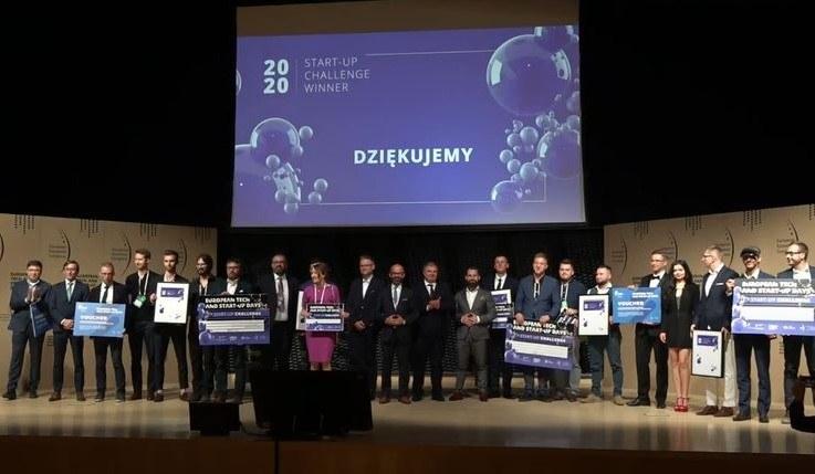 Gala z wręczeniem nagród dla najlepszych start-upów konkursu Start-up Challenge 2020. /INTERIA.PL