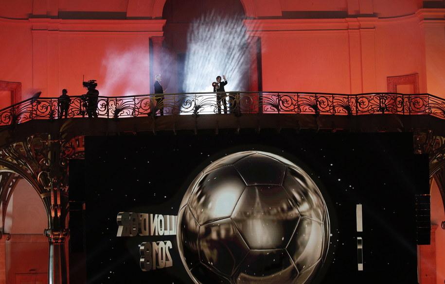 Gala Złotej Piłki już w poniedziałek 2 grudnia /YOAN VALAT  /PAP/EPA