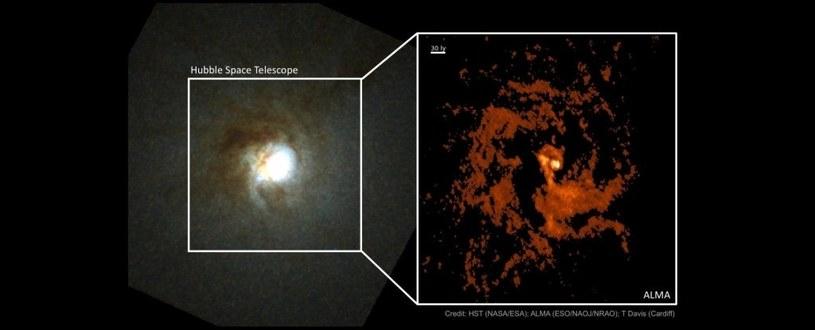 Galaktyka Duch Mirach /materiały prasowe