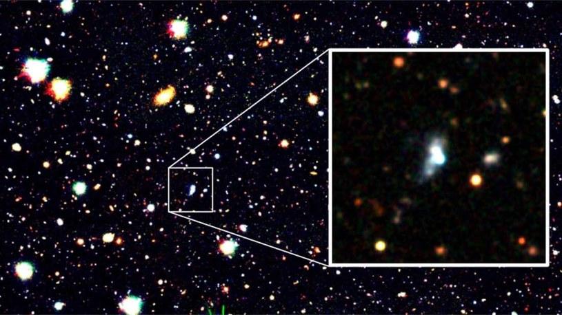 Galaktyka HSC J1631 + 4426 /materiały prasowe