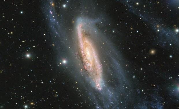 Galaktyka jak kosmiczny klejnot